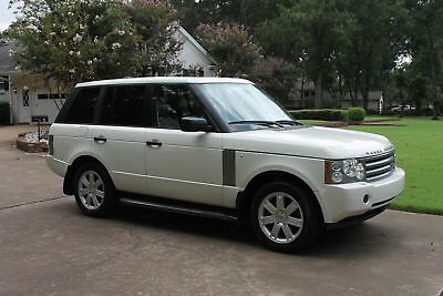 2006 Land Rover Range Rover HSE Perfect Carfax Great Condition No Lights On Rear Seat Entertainment System