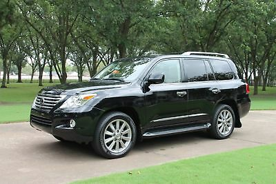 2009 Lexus LX 570 One Owner Perfect Carfax Mark Levinson Sound TV/DVD Michelin Tires MSRP $89019