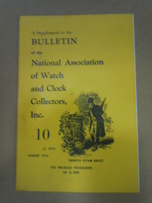 NAWCC Bulletin Supplement #10: Gruen Watch Co. History