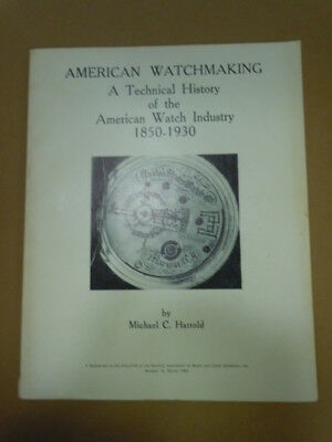 NAWCC Bulletin Supplement #14: American Watchmaking