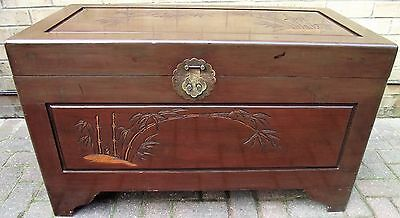 """ Coffer, Camphor Chest, Blanket Box. ""  Circa 1950"