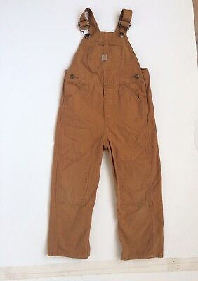 Toddler brown Carhartt overalls size 4t