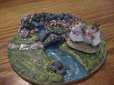 Wee Town Miniatures Display~Rose Bridge Park~Fit Wee Forest Folk~Choice Of Style