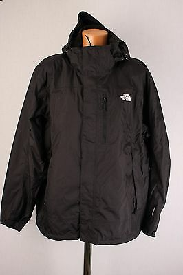The North Face HyVent Men's Black Waterproof Breathable Outdoor Jacket size XXL