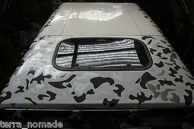 Camouflage Camo Decals Stickers Wrap Vinyl VW JDM Drift Modified 4x4 Car Roof