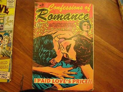 Confessions of Romance #9  VG+