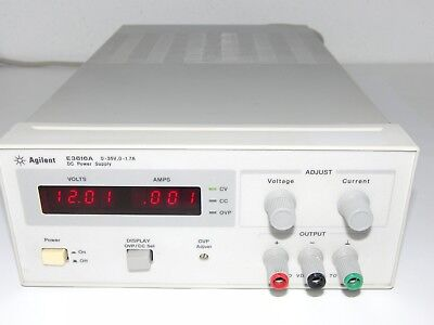 HP / Agilent E3616A DC Power Supply 0-35V/0-1.7A