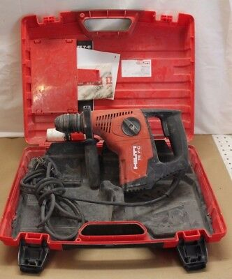 Hilti TE 7-C Rotary Hammer Drill With Hilti Case
