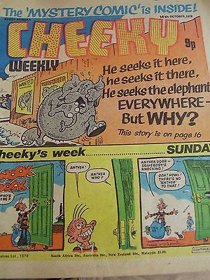 Cheeky Weekly 14Th October 1978