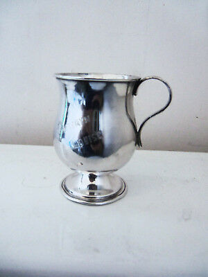 Fine Small Spanish Colonial  Silver Footed Cup