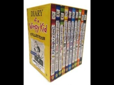 Diary of a Wimpy Kid Book Box Set Collection 10 Books NEW