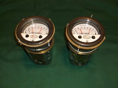Dwyer Photohelic pressure gauges, 0 - 2 inches water, 3000 series, HH circuit