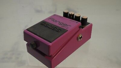 BOSS BF-2 Flanger guitar effect pedal