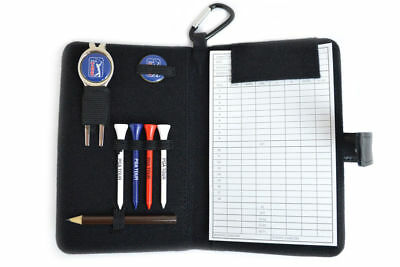 PGA Tour Real Leather Accessories and Golf Scorecard Holder