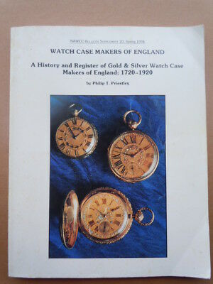 NAWCC Bulletin Supplement # 20.  Watchcase Makers of England
