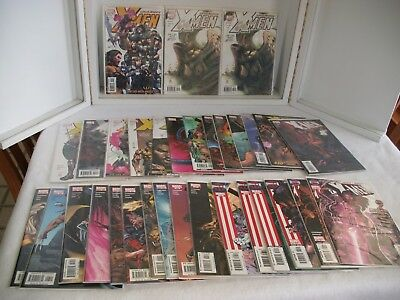 Uncanny X-Men Marvel Comic Lot 437 - 467 Complete run w/variant  ~32 issues  NM