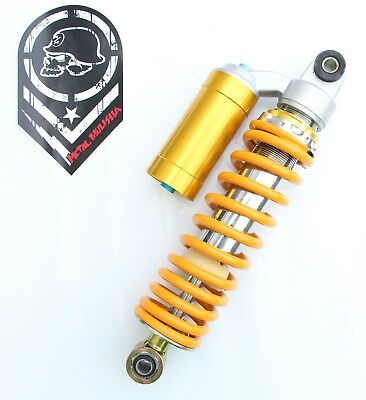 Adjustable shock absorber 280mm yellow  suspension ATV quad bike project buggy