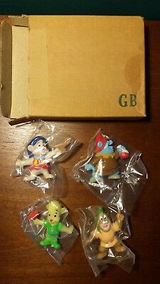 1991 Kellogg's Disney Afternoon Gummi Bears Set of 4 PVC Figures New in package