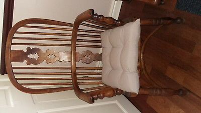 Antique Windsor Chair, Victorian Armchair, circa 1800's