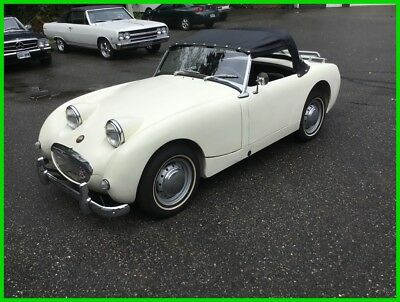 1959 Austin Healey Bug Eye Sprite MKI  1959 Austin Healey Bug Eye Sprite MKI