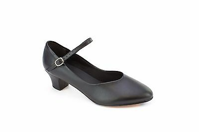 CH 50 So Danca Ballroom & Character Shoes Size 7.5 Wide Black