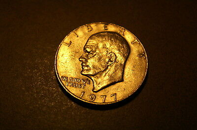 1977-D  Eisenhower Dollar Clad Circulated