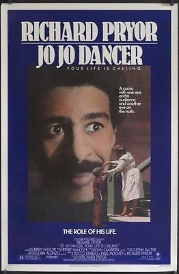 A552 JO JO DANCER one-sheet poster '86 Richard Pryor in the role of his life,