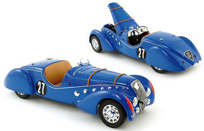 1937 Peugeot 302 Darl'Mat Roadster Diecast Model in 1:18 Scale by Norev