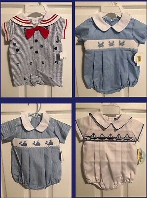 NWT Edgehill Collection And Starting Out Lot Of Baby Boy Outfits Size 3 Months
