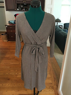 Gap Maternity Dress, Taupe Heather Color, Knee Length, Form-Fitting