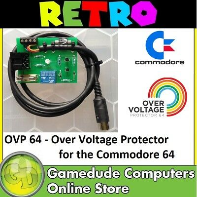 OVP 64 - Over Voltage Protector for Commodore 64 trips between 5.51v ~ 5.60 [03]