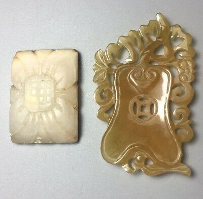 Antique Chinese Jade Stone Carvings