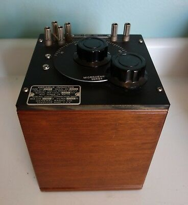 General Radio Co. Variable Inductor Type: 107 (J) Microhenrys Series
