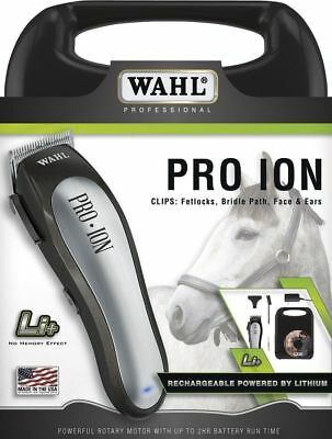 Wahl Professional Animal Pro Ion Rechargeable Equine Clipper #9705-100