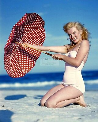 Marilyn Monroe Iconic Sex-Symbol & Actress - 8X10 Early Publicity Photo (Zy-857)