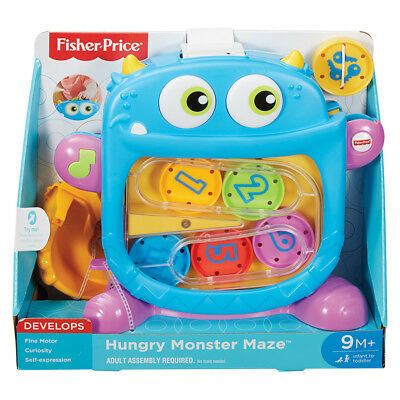 Fisher-Price Hungry Monster Maze - NEW