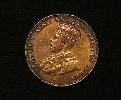 1926 Hong Kong 1 Cent Nice High Grade Strong Detail!