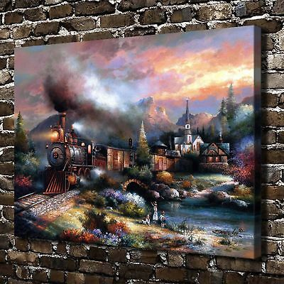 full moon Paintings HD Canvas Print Home Decor Room Wall Art Pictures
