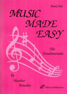 New Music Made Easy Book 1: The Fundamentals Music Theory Tuition Book