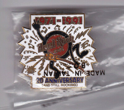 Hard Rock Cafe 20th Anniversary - Animated Logo pin