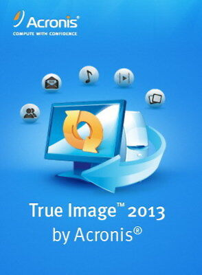 Acronis True Image 2013 - Backup and Recovery Software