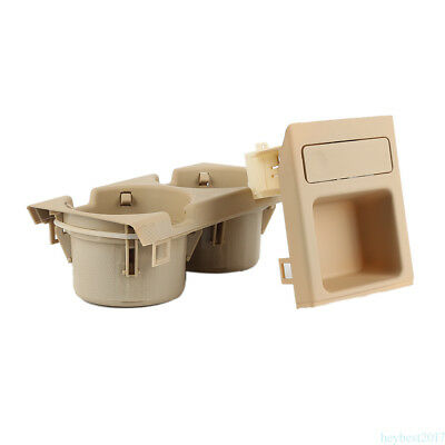 Beige Cup Holder & Coin Holder/ storage / tray For BMW E46 323 325 328 330 he17