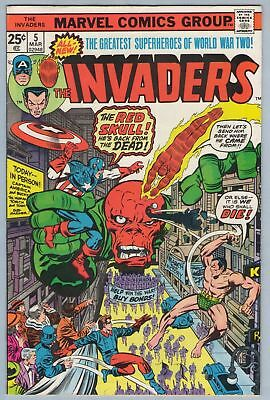 Invaders 5 Mar 1976 VF- (7.5)