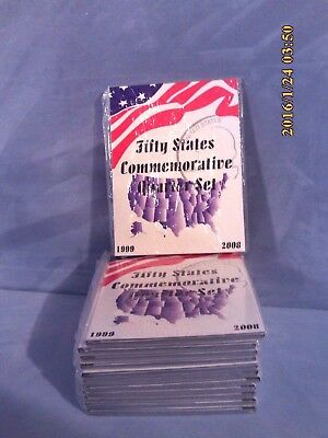 NEW Tri-Fold Coin Folder Fifty State Commemorataive Quarter Sets 1999-2008