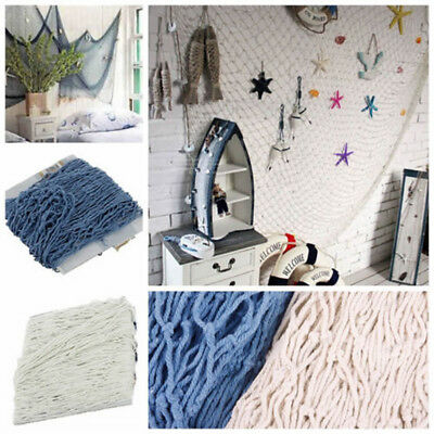 Nautical Seaside Beach Theme Decorative Sea Ocean Fish Net Home Wall Party Decor