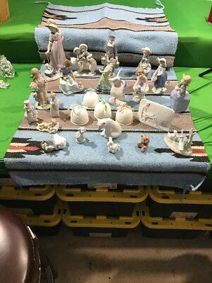 Lladro Collection 26 Pieces Wow Who Does This? No Reserve