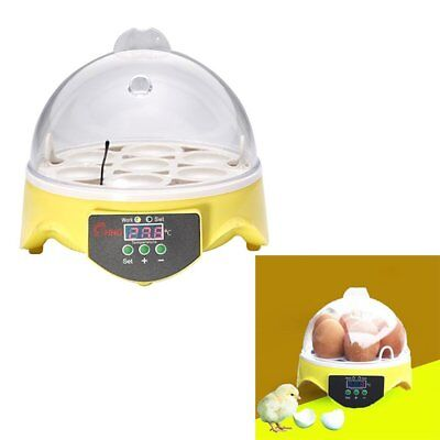 Unique Automatique7Oeufs Incubateur TournageChickenHatcherTemperature Control