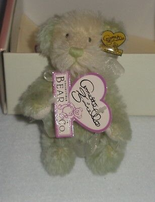Annette Funicello Mohair Bear Kiwi Bean Bag Collection #2433 of #2500! NIB!