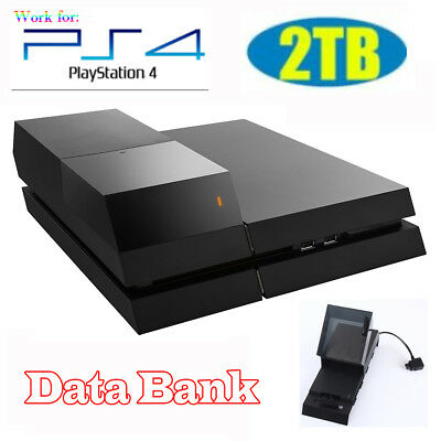 2TB Data Bank Video Gaming LED External Hard Drive Storage for Playstation4 PS4