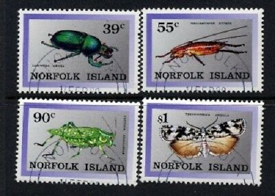 Norfolk Island 1989 - Native Insects (4) CTO